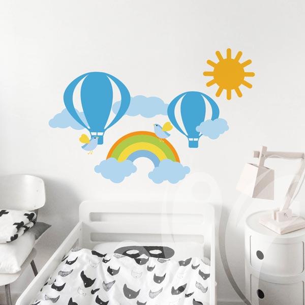 Rainbow-Balloon-Sun-wall-decal-02