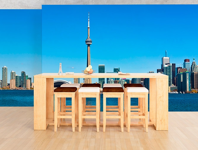 toronto skyline wall decal wall decals and stickers toronto toronto wall decals toronto wall stickers amp wall peels