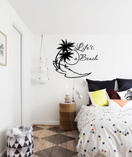 Lifes-a-beach-wall-decal-01