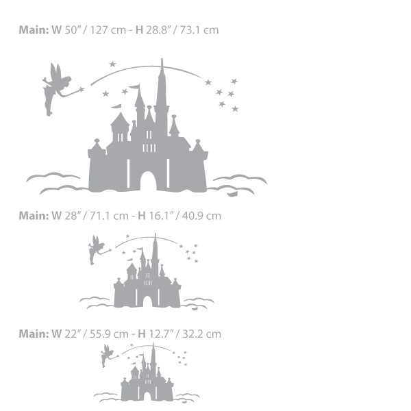 Magic Castle Decal – Wall Decals and Wall Stickers Toronto