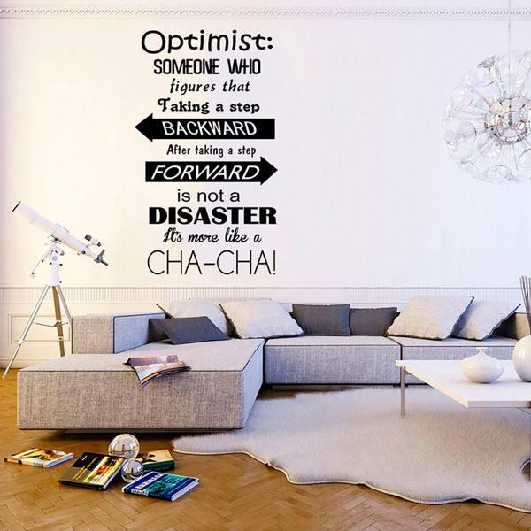 optimistic wall art – wall decals | wall stickers toronto