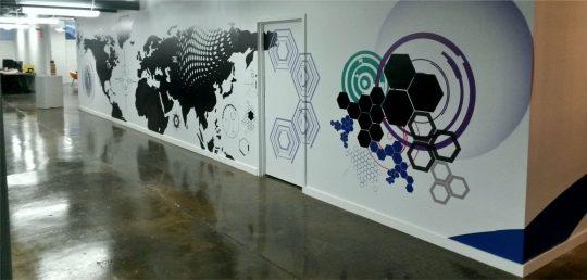 creative silhouettes Office-Branding-Toronto