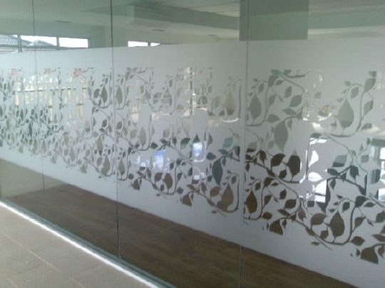 creative silhouettes window decal frosted