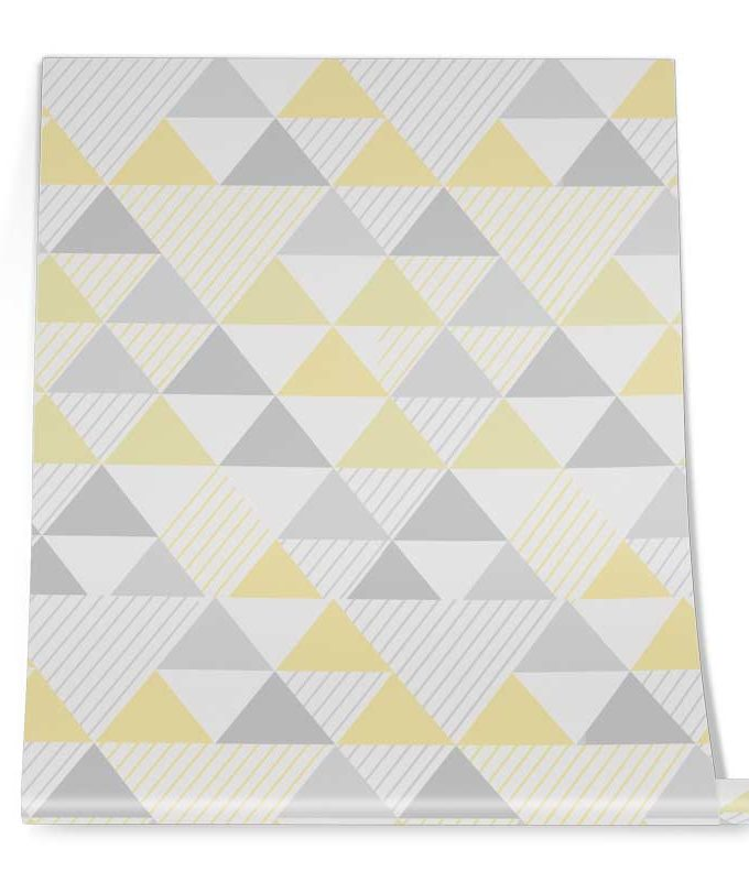 Geometrical Triangle Wallpaper