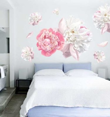 peony wall decal sticker canada