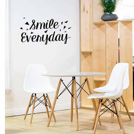 Wall decals for offices