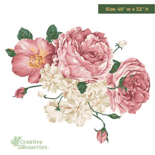 Flower wall deco