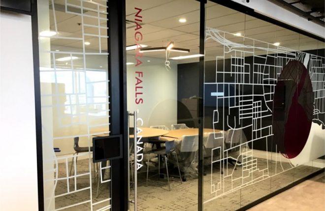 custom window distraction graphics