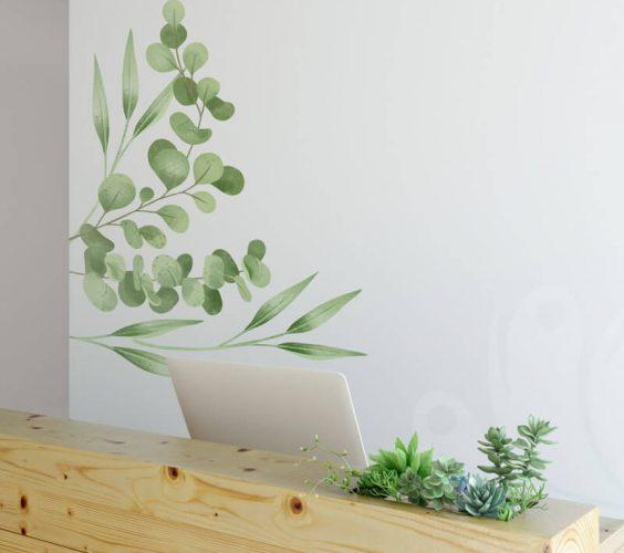 Eucaliptus Wall Decal Sticker