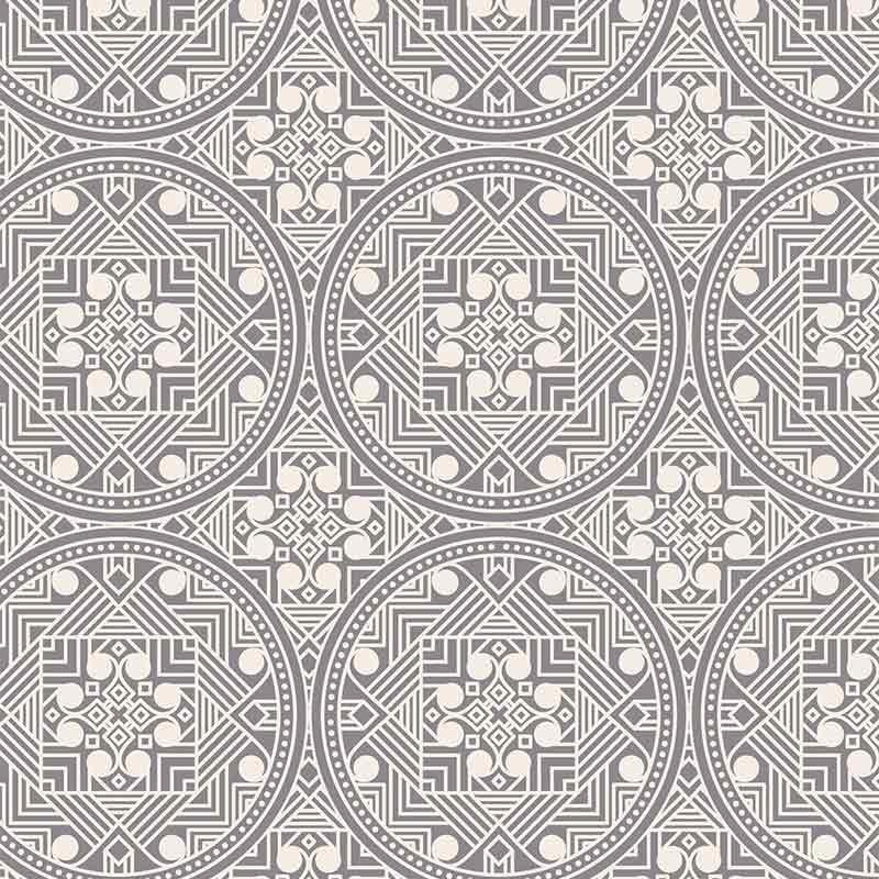 Abstract Ethnic Light Pattern