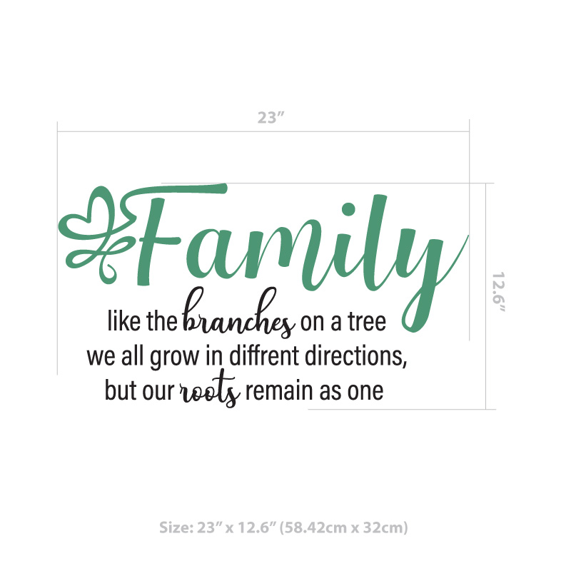 Family Wall Decal