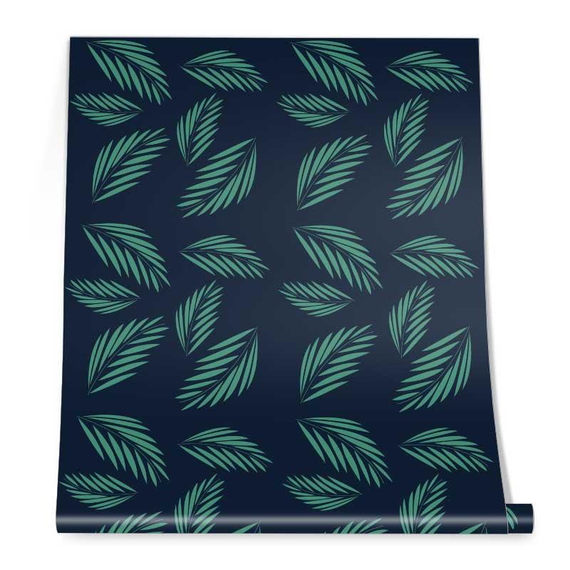 Dark Green Leaf Roll
