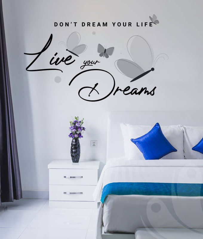 Live Your Dream Decal