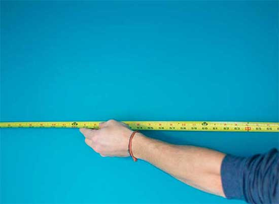 Measure the sizes