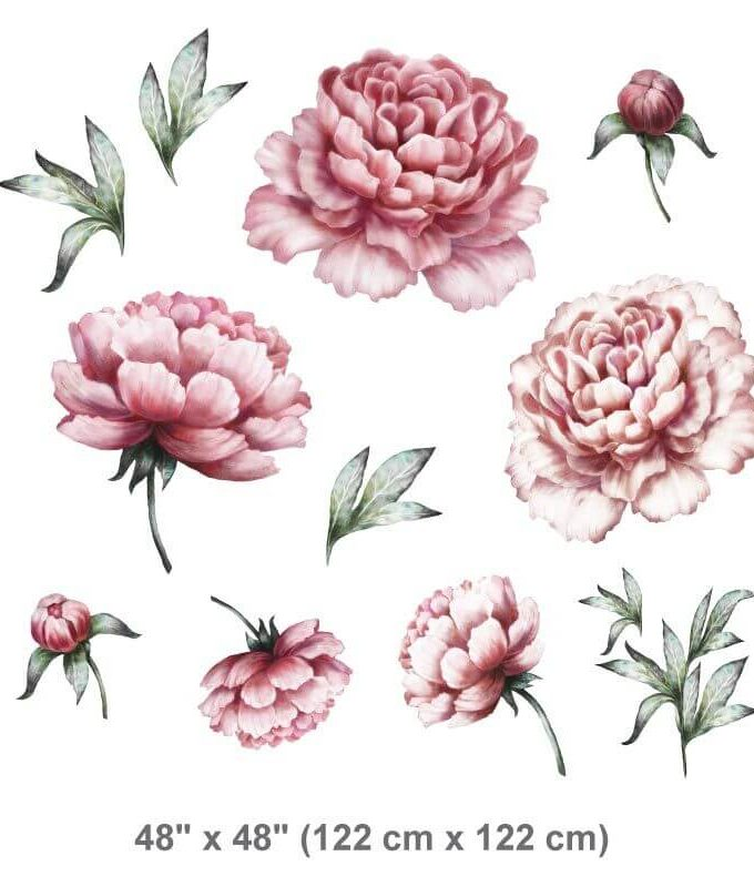 Peonies Wall Decal