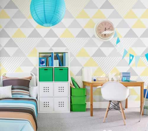 Geometric Wall Graphic for Home