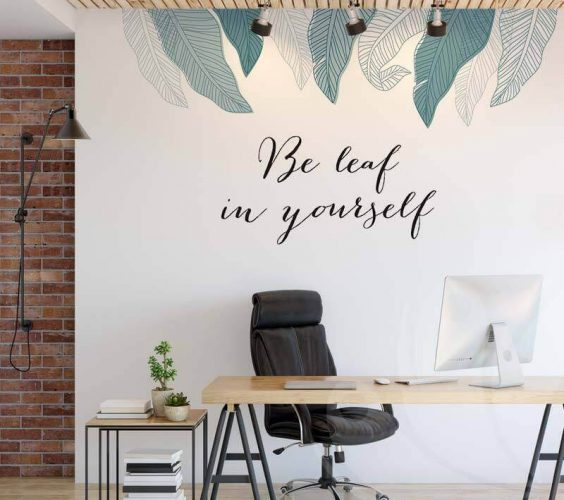 Be leaf in yourself Mockup