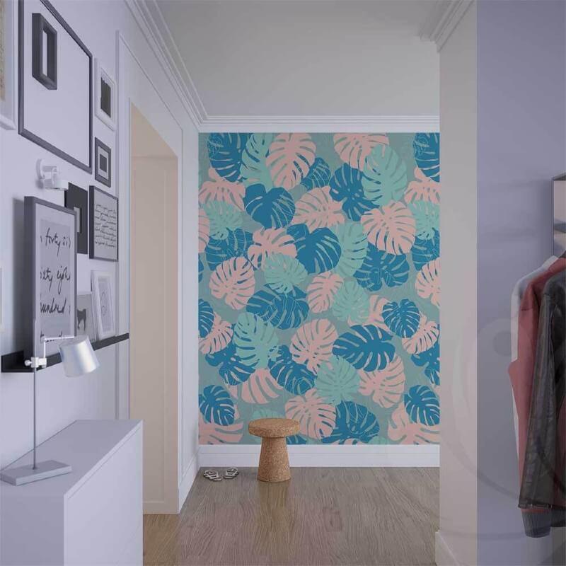 Colourful Leaf Wallpaper