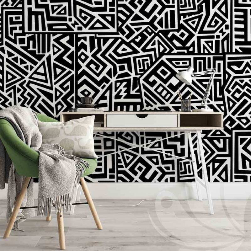 Square Doodle Wallpaper
