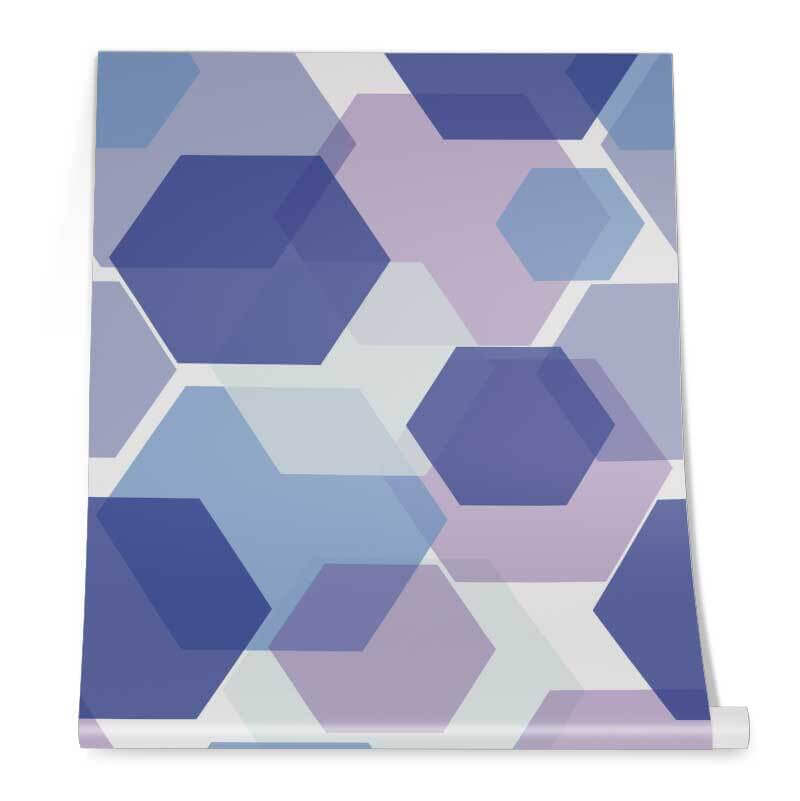 Colourful Hexagon Pattern Roll