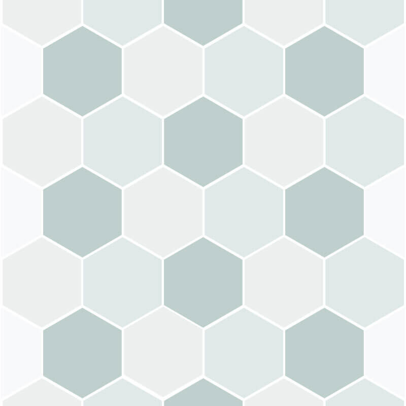 Hexagon Shaped Wall Graphic