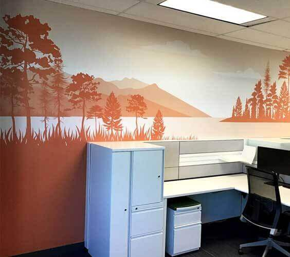 Landscapes Wall Graphic