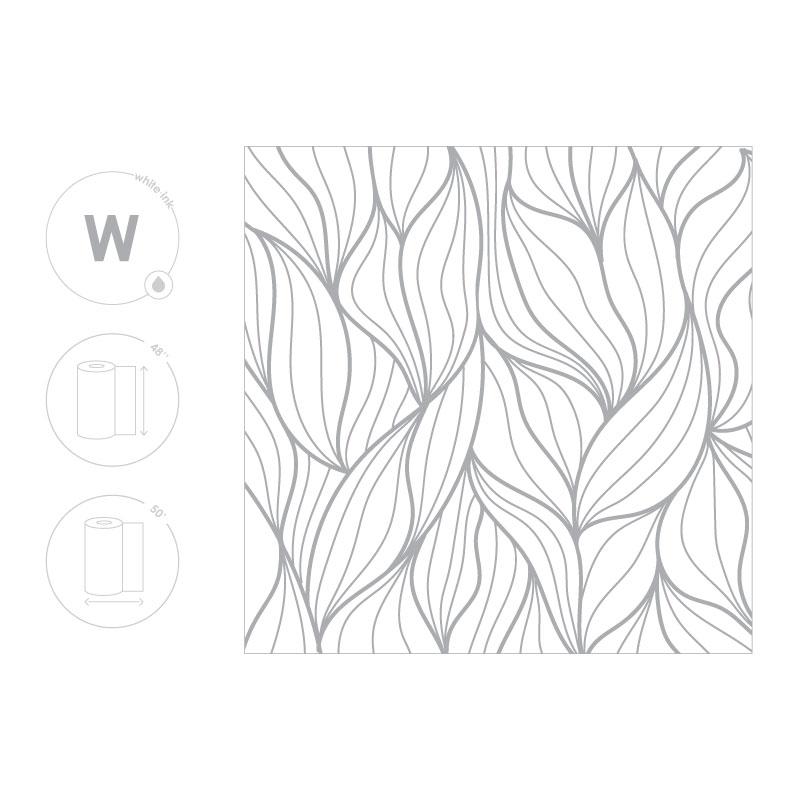 Leaf Pattern Film Size