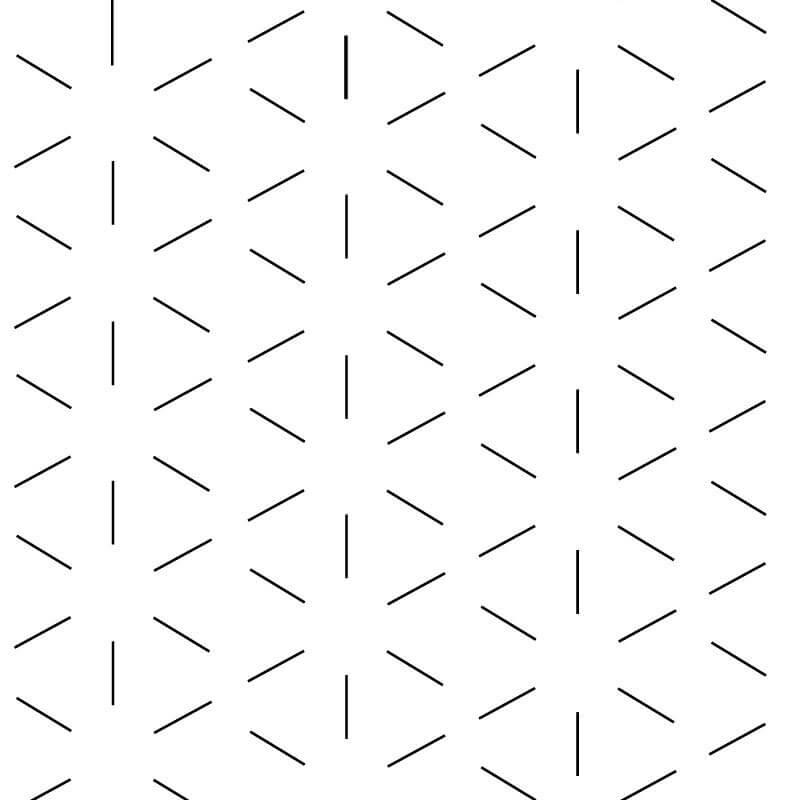 Star Cross Wallpaper Pattern