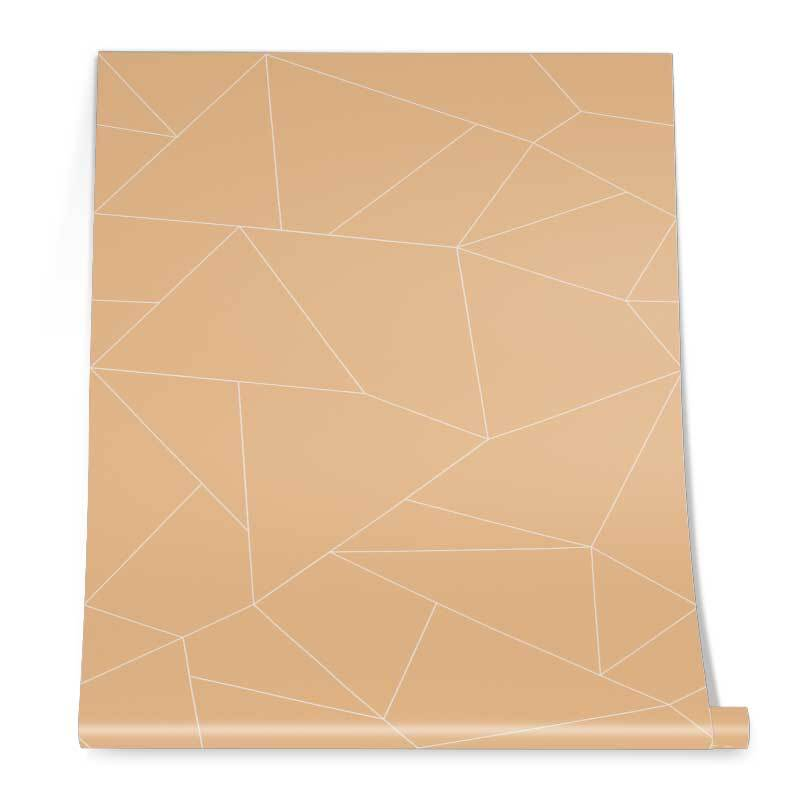Triangle Pattern Wall Graphic Roll