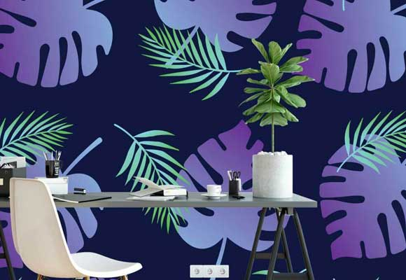 Tropical Wall Graphic