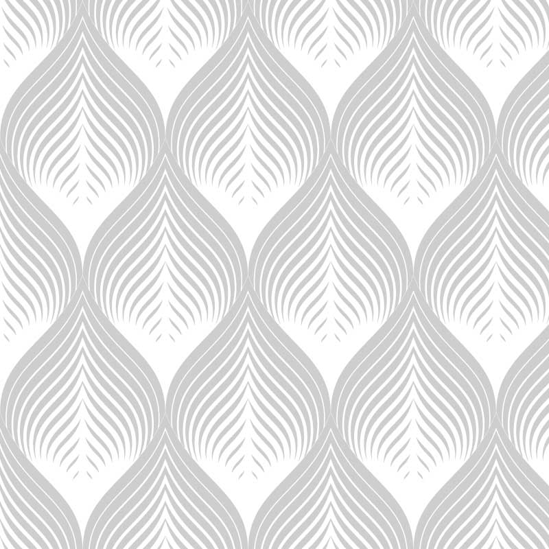 White Leaf Pattern Film