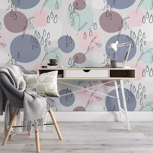 Abstract Wall Graphics