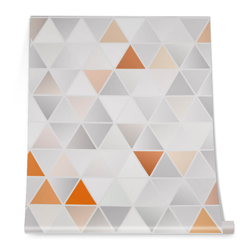 Colouful Triangle Graphic Pattern Roll