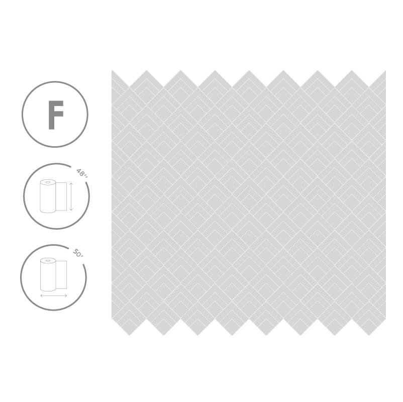 Cutting Edge Frosted Pattern Size
