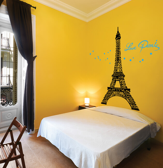 Eiffel Tower Wall Decal