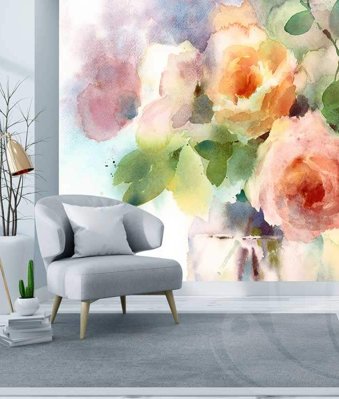 Floral Wall Graphic