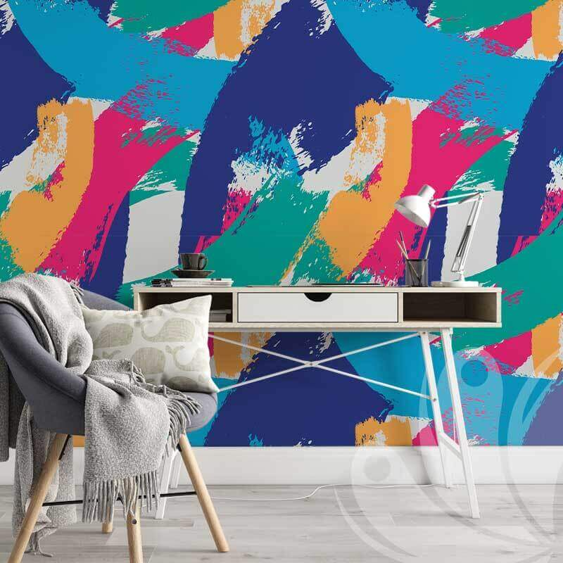 Multi-coloured Abstract Pattern Graphic