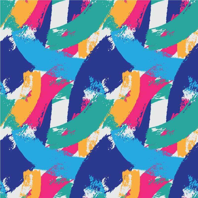 Multi-coloured Abstract Pattern