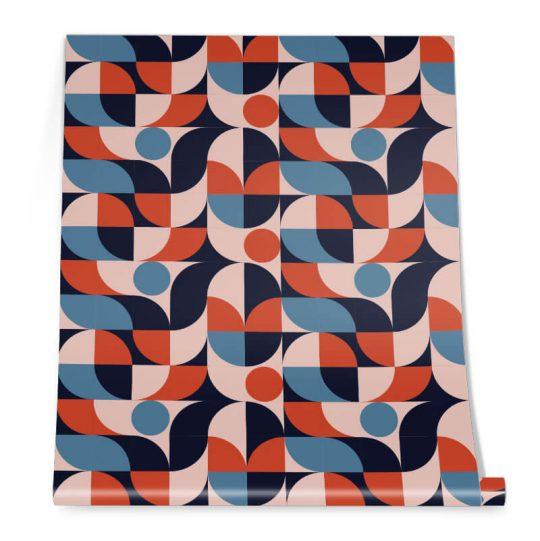 Round Geometric Pattern Roll