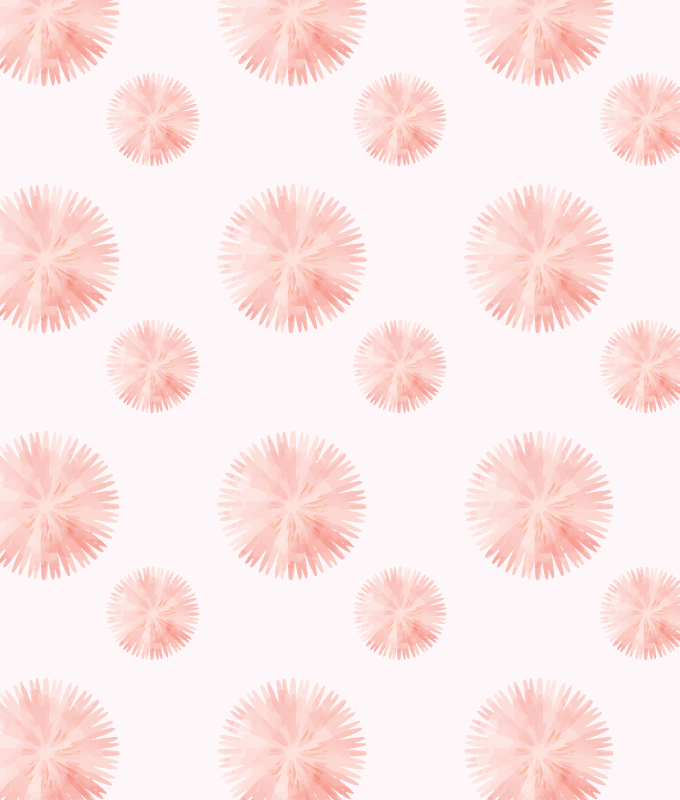 Tiny Floral Wall Graphic Pattern