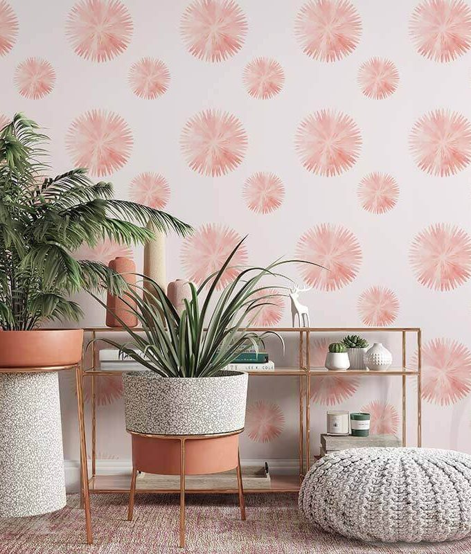 Tiny Floral Wall Graphic