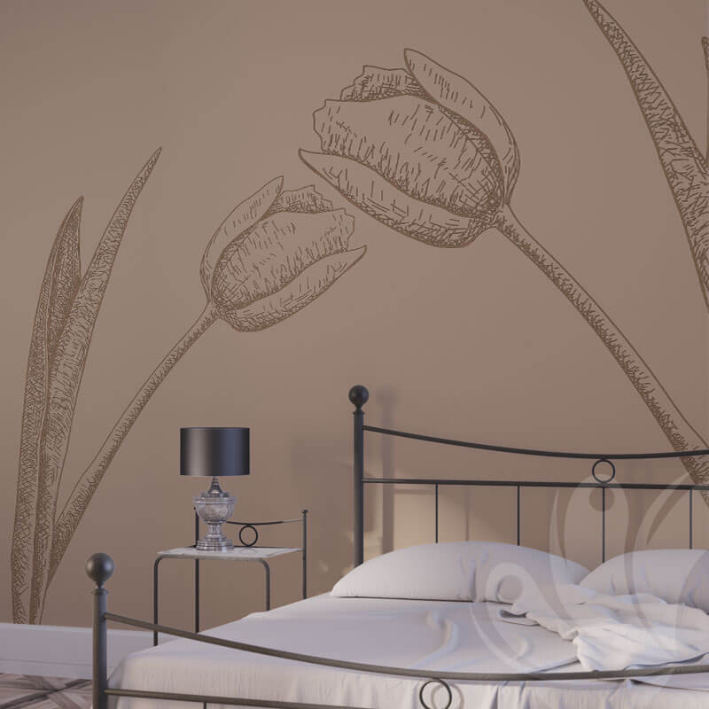 Tulip Wall Decals for home