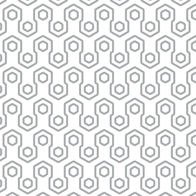 Abstract Honey Bee Wall Graphic Pattern