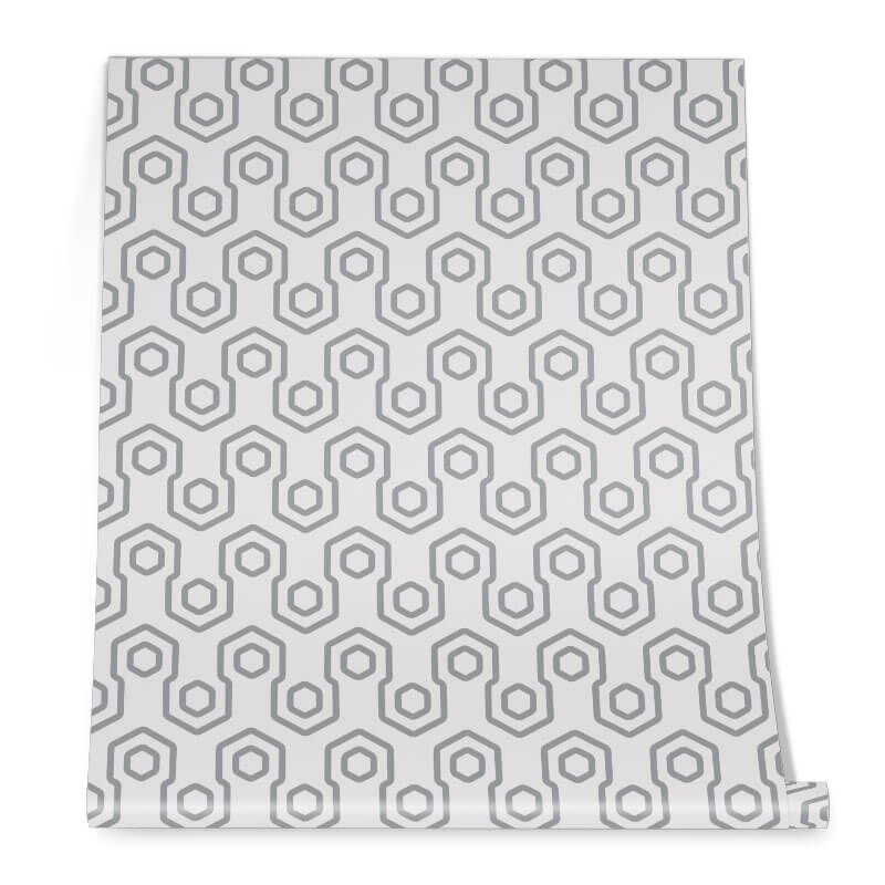 Abstract Honey Bee Wall Graphic Roll