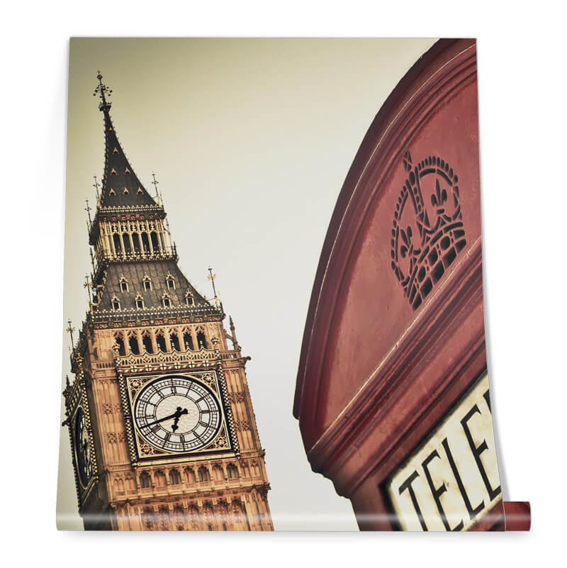 Big Bang London Wallpaper Roll