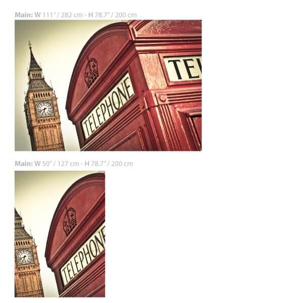 Big Bang London Wallpaper Size