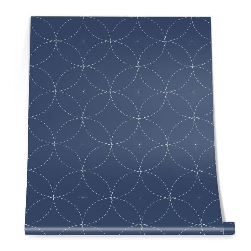 Blue Astro Wall Graphic Roll