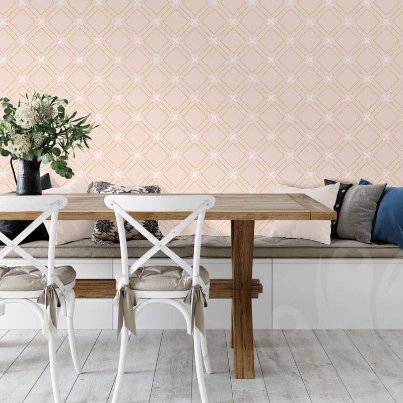 Pastel Tile Wall Graphic