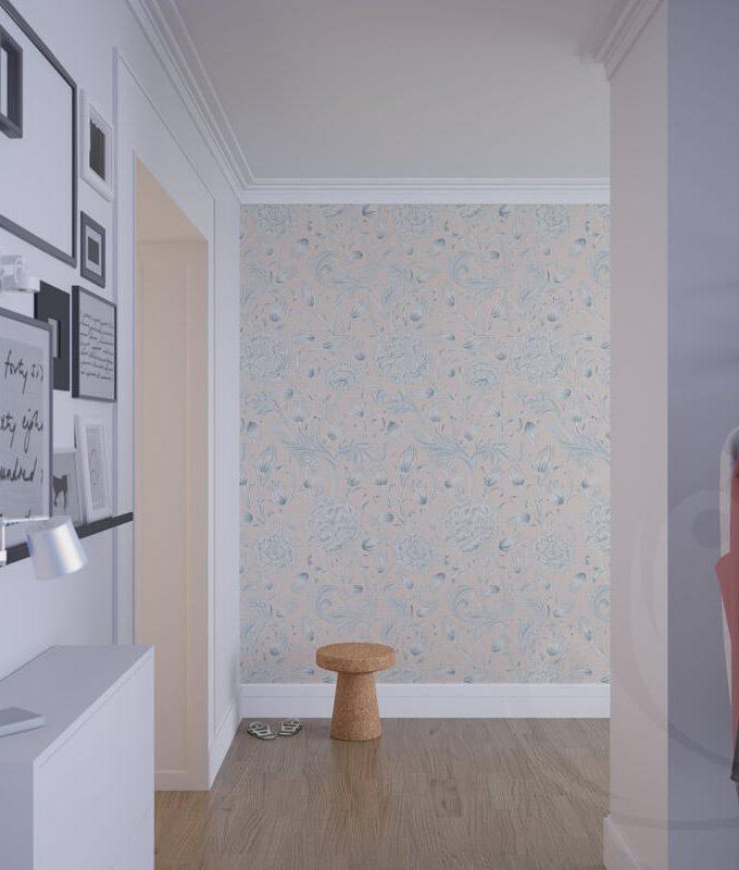 Plant Pastel Pattern Wallpaper