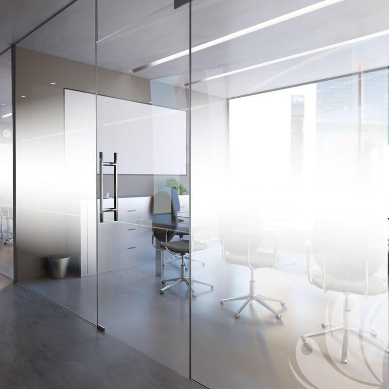 White Gradient Window Graphic